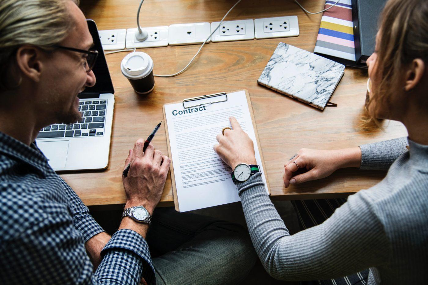 Arbeidsvoorwaarden - contractbespreking