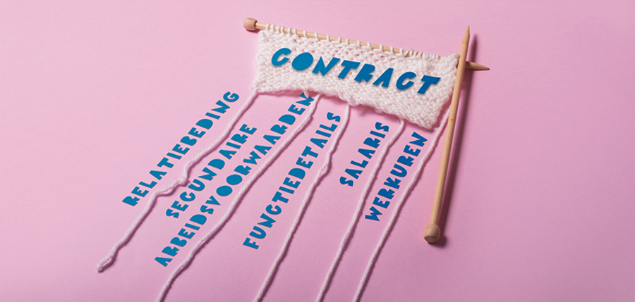 arbeidsovereenkomst en de voorwaarden