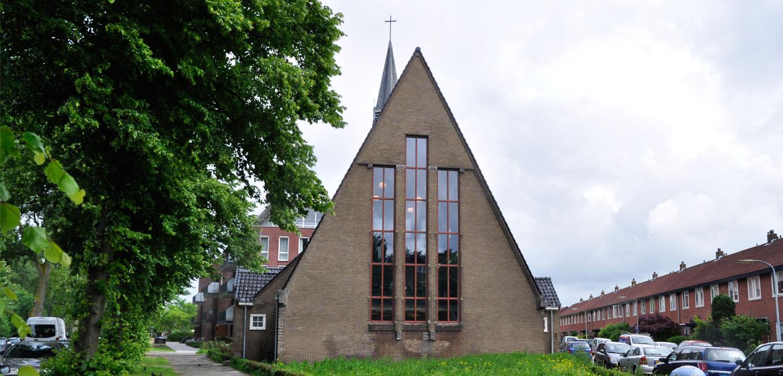 omgedoopte kerk