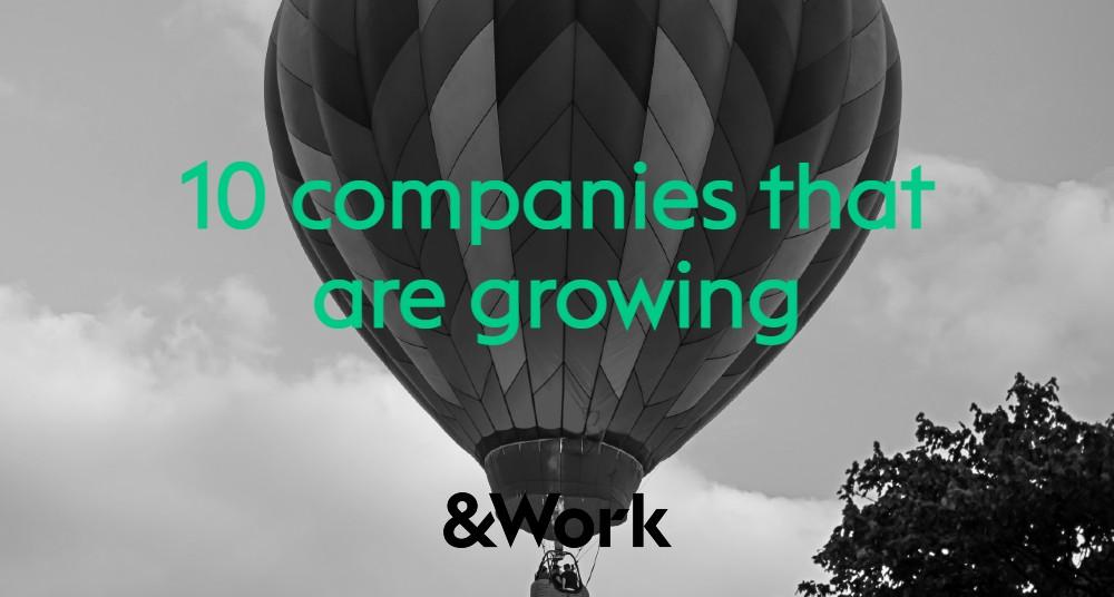 Bedrijven in NL & BE die nú groeien & talentvol personeel zoeken!
